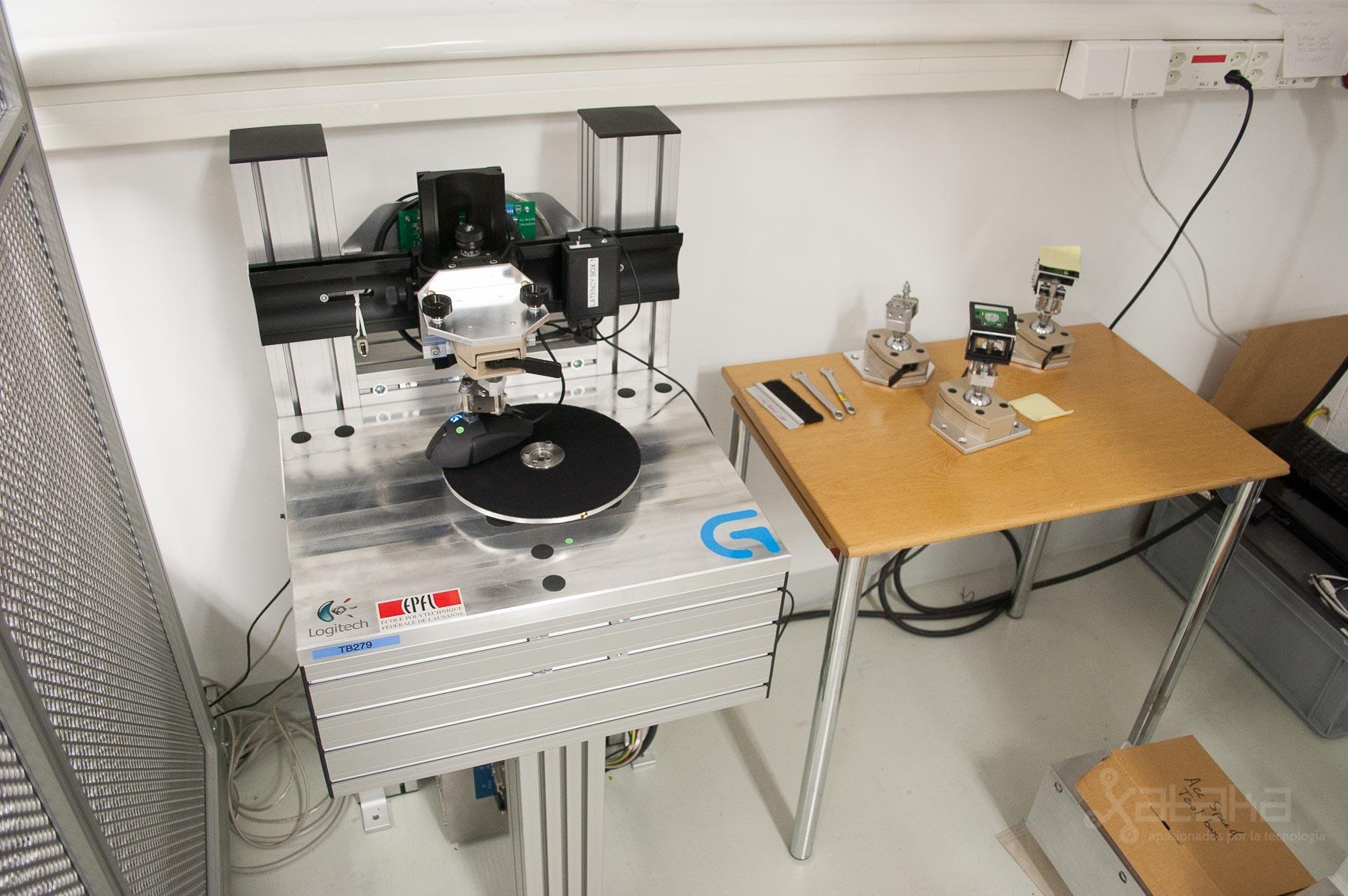 Foto de Logitech Lausanne, visita a sus laboratorios (20/49)
