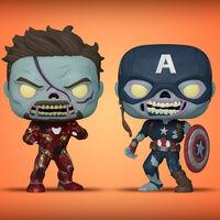 Los zombies invaden Funko POP en las nuevas figuras de 'What if...?' ya disponibles para reservar en Amazon México