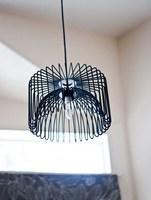 Hazlo tú mismo: una lámpara con un frutero de Ikea