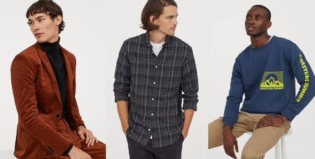 Ofertas para hombre en H&M con descuentos en sudaderas, camisetas o chaquetas de hasta el 50%