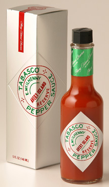 Salsa Tabasco, edición limitada