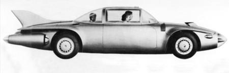 GMC Firebird II de perfil