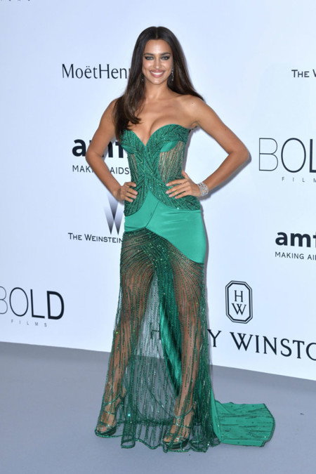 Irina Shayk Amfar Cannes 2015