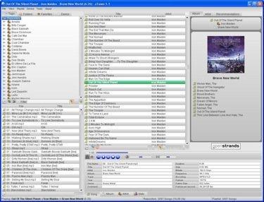 aTunes, reproductor y gestor de ficheros de audio