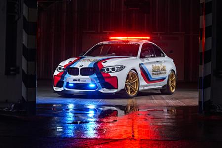 El BMW M2 que hará de Safety Car en MotoGP es casi pornográfico
