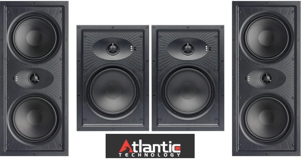 Atlantic Technology presenta sus nuevos altavoces empotrables para salas con paredes huecas
