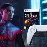 El chollo para jugones está en FNAC: mando Dualsense y el juego Spider-Man Miles Morales para PS5 por menos de 100 euros