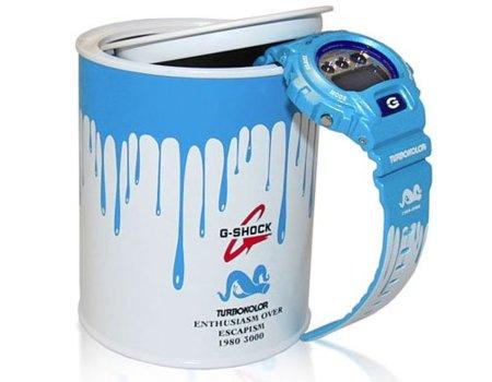 El nuevo reloj G-Shock para Turbokolor viene en un bote de pintura