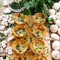 23 tartaletas saladas para triunfar en Navidades