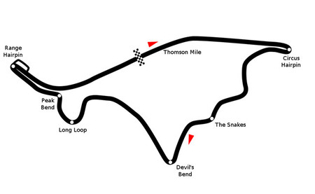Thomson Road Circuit mapa