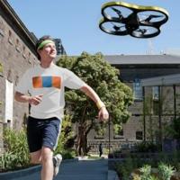 Si no te animas a correr cada día ¿qué tal con un AR drone persiguiéndote?
