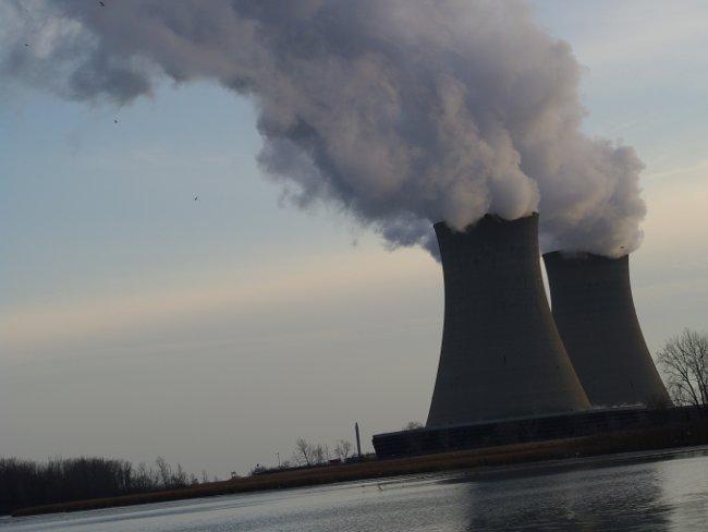 Torres de refrigeración de una central nuclear
