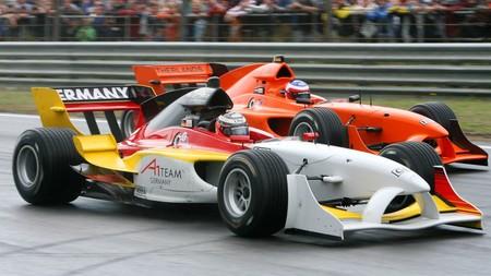 Así fue la A1GP, unos Juegos Olímpicos de los coches donde las naciones competían con el Ferrari F2004 de Fórmula 1