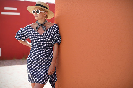 Vestido Cuadros Vichy 03