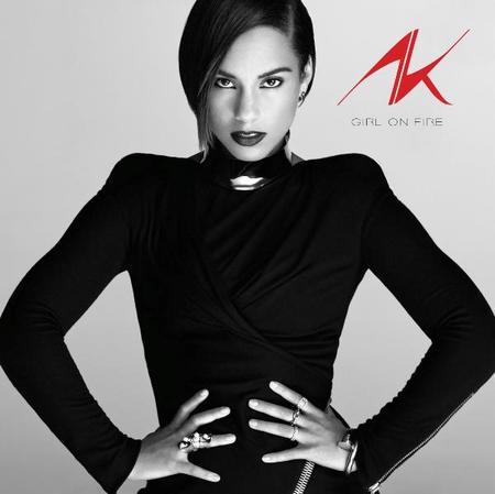 Alicia Keys, encendida en llamas pero en blanco y negro para su próximo disco
