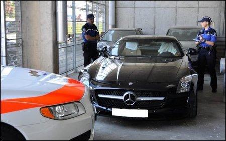 """Espectacular multa al """"piloto"""" de un SLS AMG"""
