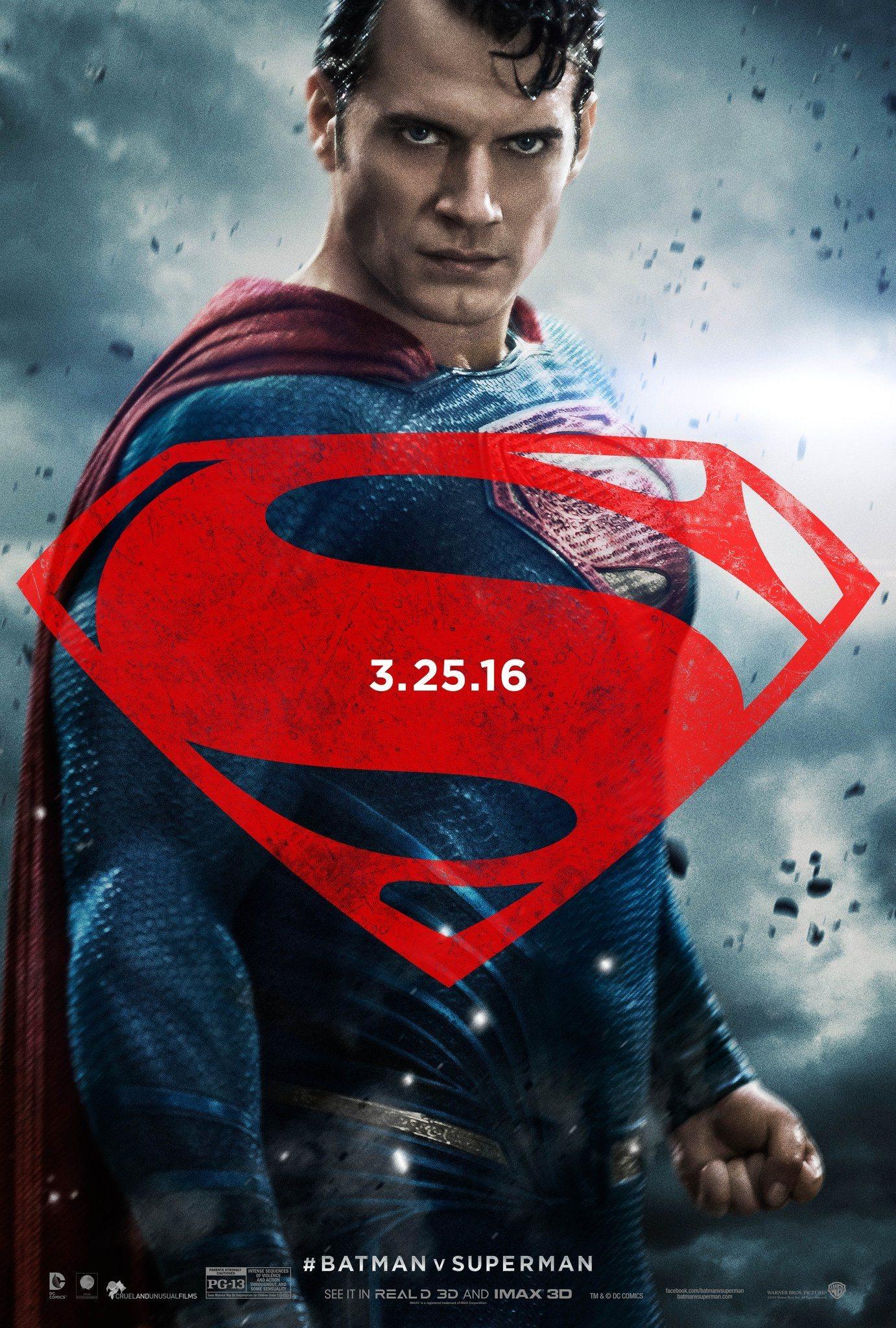 Foto de 'Batman v Superman', nuevos carteles de los protagonistas (1/3)