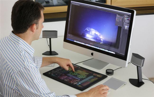 Shortcut-S, el teclado para Photoshop que tiene 319 teclas