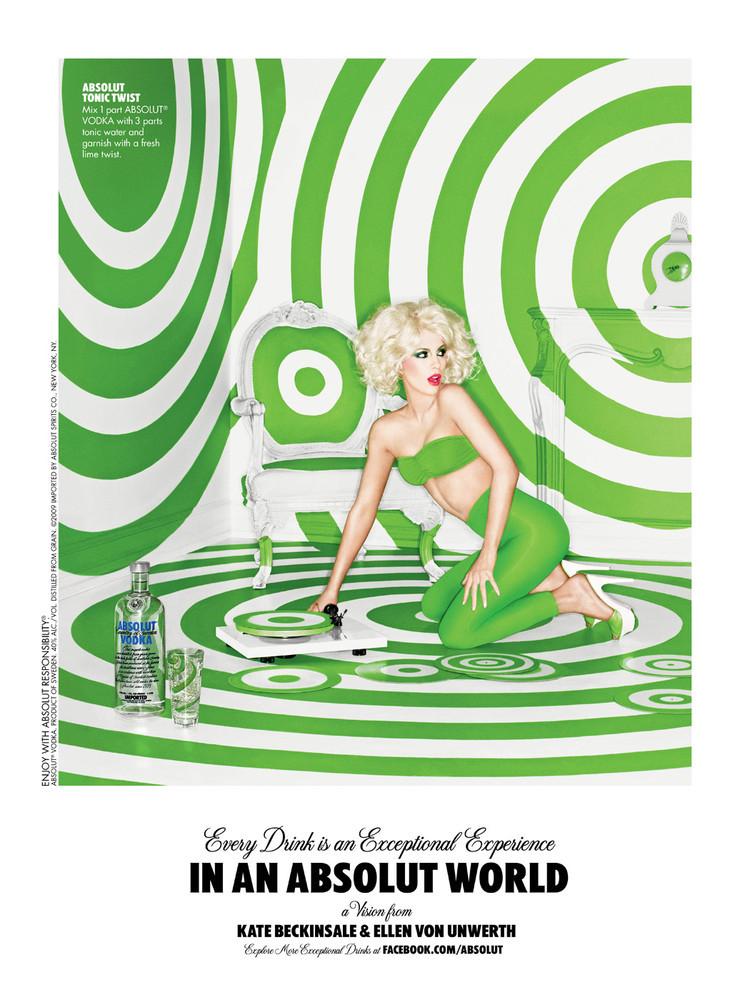 Foto de Kate Beckinsale y Zooey Deschanel campaña de Absolut Vodka (3/4)