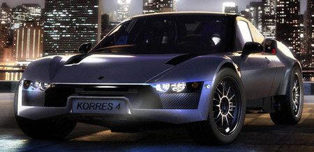Korres Project 4, un supercoche griego