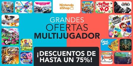 Arrancan las grandes ofertas multijugador en Switch y te seleccionamos los mejores descuentos de la eShop de Nintendo