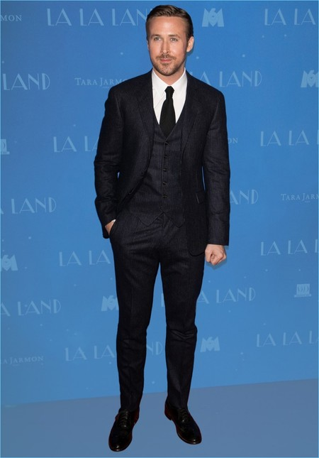 Ryan Gosling 2017 La La Land Paris Premiere