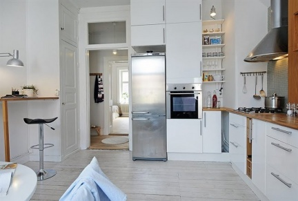 Casas que inspiran un piso peque o y bien aprovechado - Como amueblar un piso pequeno ...