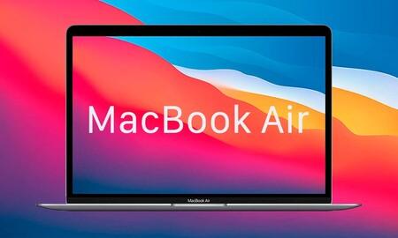 En Amazon y Fnac tienes el nuevo MacBook Air con procesador M1 con 70 euros de rebaja