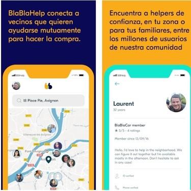 BlaBlaCar se reinventa en plena cuarentena y lanza una app para cubrir un servicio esencial: la compra