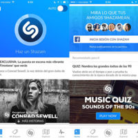 Shazam se actualiza con un alto componente social. Ahora podrás ver la música que escuchan tus artistas favoritos