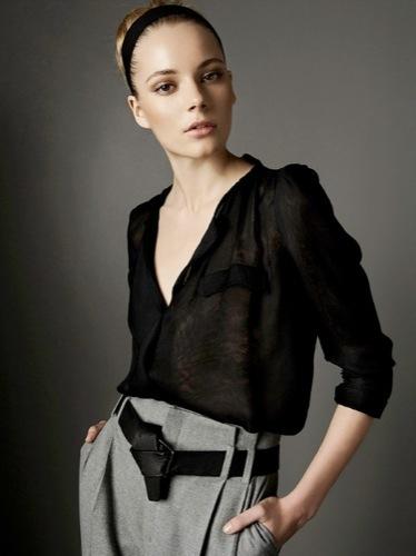 Nuevos looks y estilos de Zara, Otoño-Invierno 2009/2010, blusas