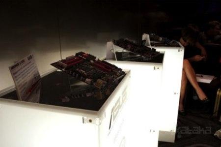 Novedades en las nuevas placas Asus con la P7P55 y la Sabertooth 55i. Nuevas tecnologías