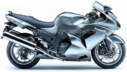 Primera imagen de la Kawasaki ZZ-R1400 2008