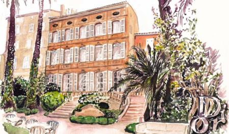 Dior sabe cómo cuidar su boutique de Saint-Tropez