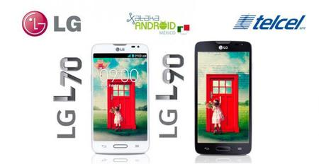 LG L70 y L90 llegan a México
