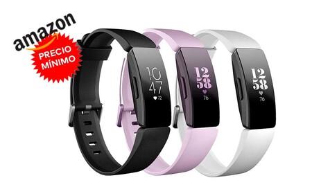 De nuevo a precio mínimo: la pulsera deportiva Fitbit Inspire HR sólo cuesta 59,95 euros hoy en Amazon