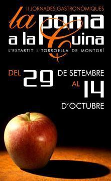 II Jornadas Gastronómicas de la Manzana en L'Estartit-Torroella de Montgrí