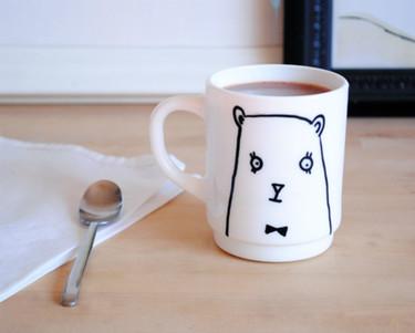 Hazlo tú mismo: decora tus propias tazas