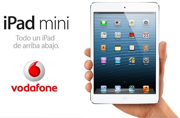 Precios iPad mini con Vodafone