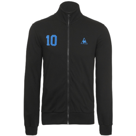 chaqueta futbol lecoq negro