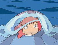 'Ponyo en el acantilado', el encanto de la niña pez
