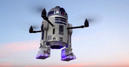 Este drone de R2-D2 es muy posiblemente el androide que estabas buscando