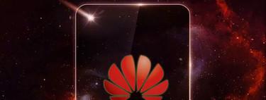 Huawei nos muestra un misterioso móvil con lo que parece un agujero en la pantalla (y un adiós al 'notch')