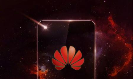 Huawei nos muestra un misterioso móvil con lo que parece un agujero en la pantalla (y un adiós al 'notch') [actualizado]