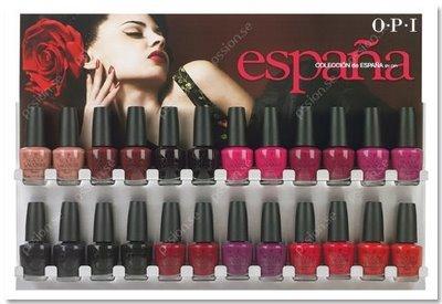 OPI lanza la colección España