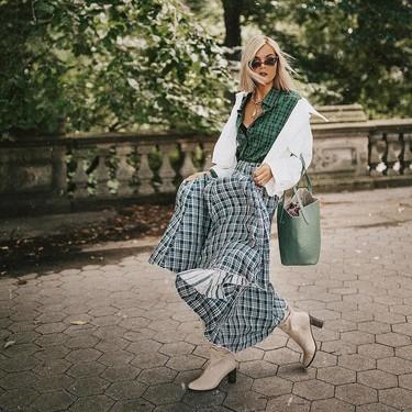 15 faldas largas para tu look de oficina con las que dar la bienvenida a septiembre
