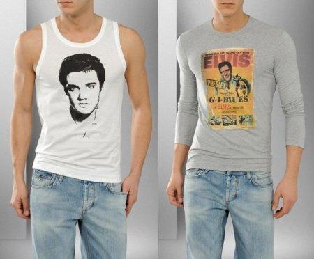 Elvis en las camisetas de D&G