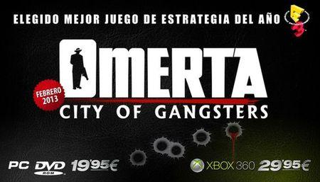 En febrero llegará la mafia más estratégica con 'Omerta: City of Gangsters'