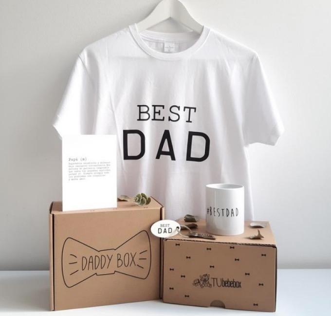 "Caja regalo Papá ""BEST DAD"": regalo original para padres"