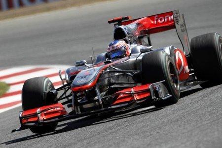 GP de Gran Bretaña 2010: McLaren desetima el uso del difusor soplado en Silverstone